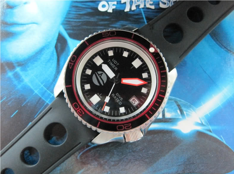 "SOLD!!!! SEIKO SKX007 one-of-a-kind custom  ""SUB-UDT"" diver....$275 shipped  HANDS940"