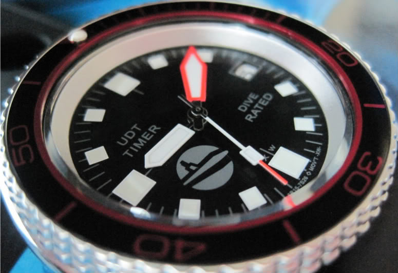 "SOLD!!!! SEIKO SKX007 one-of-a-kind custom  ""SUB-UDT"" diver....$275 shipped  HANDS943"
