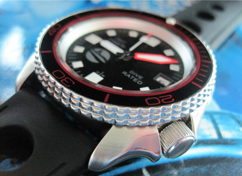 "SOLD!!!! SEIKO SKX007 one-of-a-kind custom  ""SUB-UDT"" diver....$275 shipped  HANDS944"