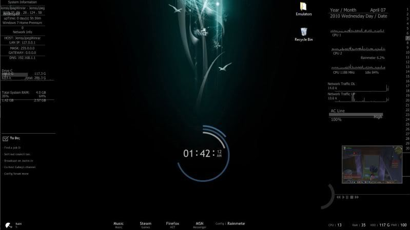 What does your desktop look like? Mydesktop