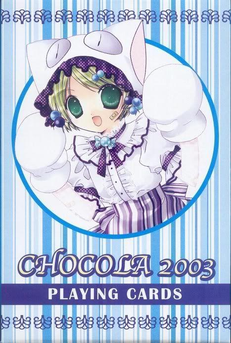 [Card] Chocola Playing Cards Chocolat_card_001