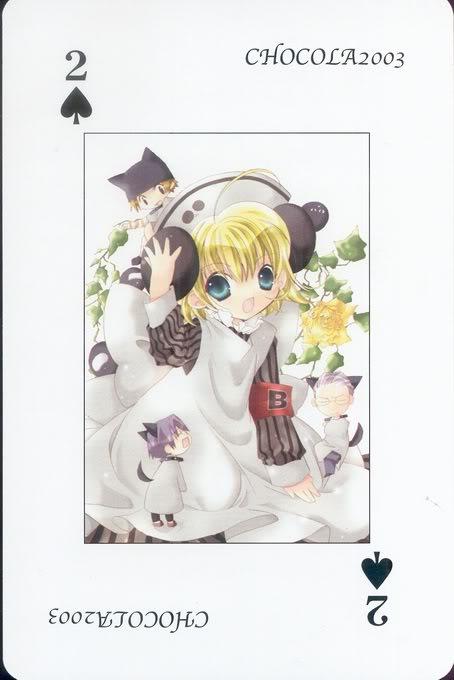 [Card] Chocola Playing Cards Chocolat_card_003