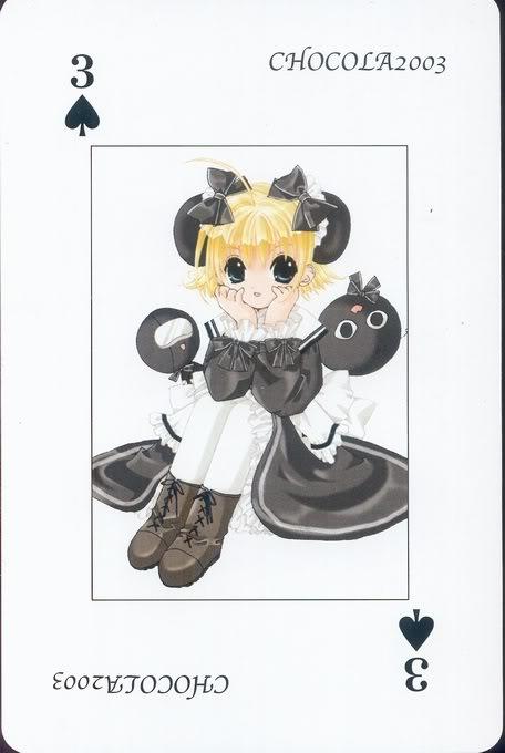 [Card] Chocola Playing Cards Chocolat_card_004