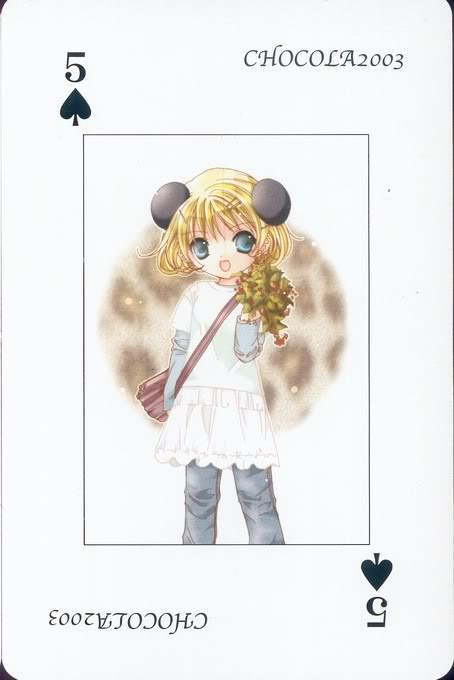 [Card] Chocola Playing Cards Chocolat_card_006