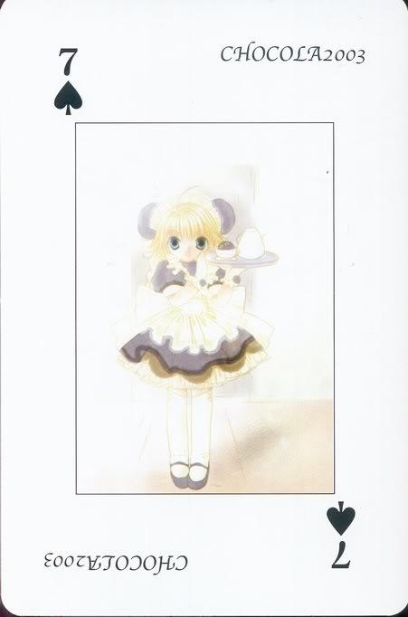 [Card] Chocola Playing Cards Chocolat_card_008
