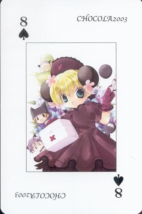 [Card] Chocola Playing Cards Chocolat_card_009