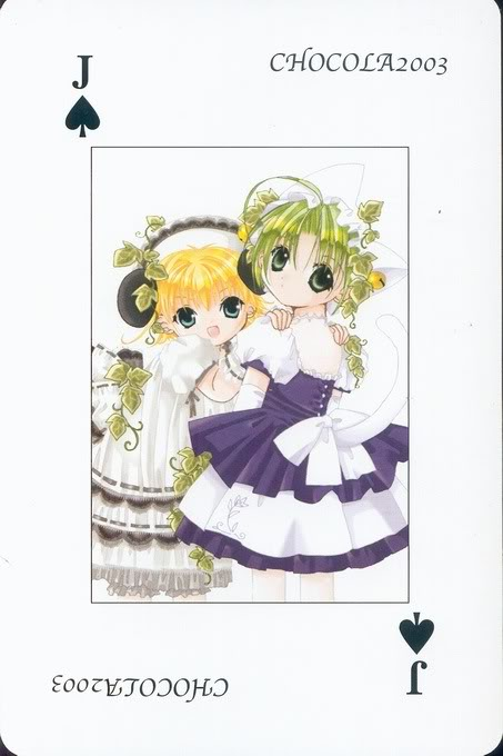 [Card] Chocola Playing Cards Chocolat_card_012