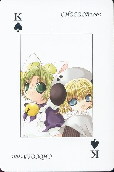 [Card] Chocola Playing Cards Chocolat_card_014