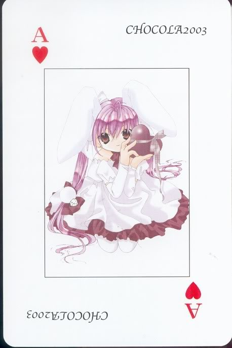 [Card] Chocola Playing Cards Chocolat_card_015