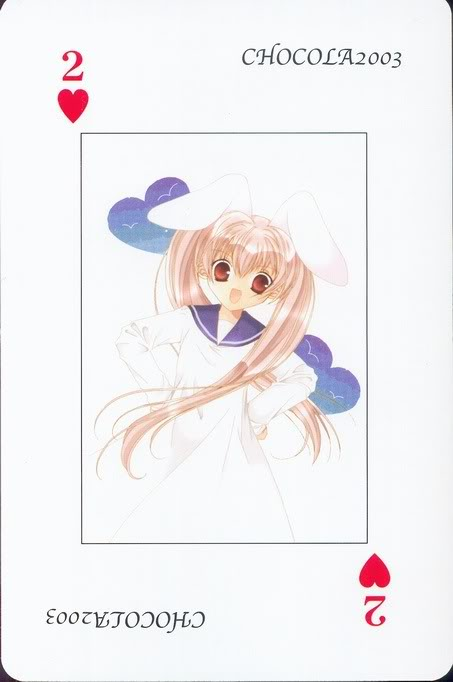 [Card] Chocola Playing Cards Chocolat_card_016