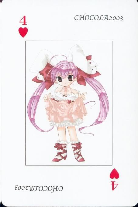 [Card] Chocola Playing Cards Chocolat_card_018