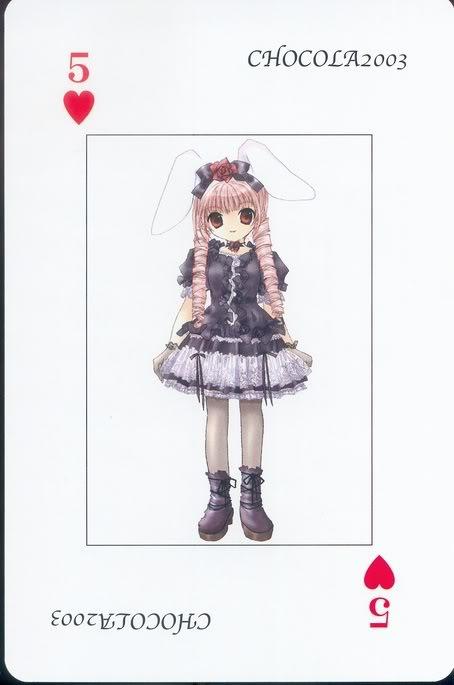 [Card] Chocola Playing Cards Chocolat_card_019