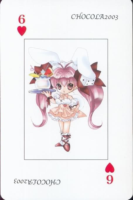 [Card] Chocola Playing Cards Chocolat_card_020