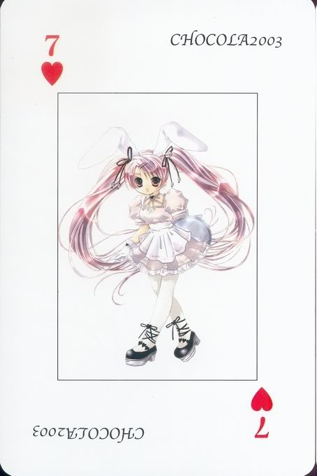 [Card] Chocola Playing Cards Chocolat_card_021