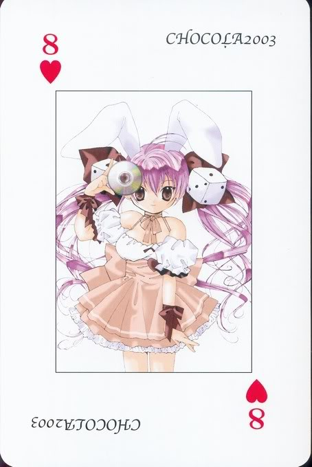 [Card] Chocola Playing Cards Chocolat_card_022