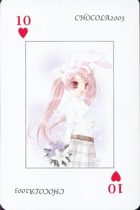 [Card] Chocola Playing Cards Chocolat_card_024