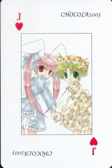 [Card] Chocola Playing Cards Chocolat_card_025