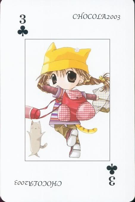[Card] Chocola Playing Cards Chocolat_card_030