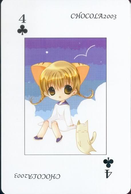 [Card] Chocola Playing Cards Chocolat_card_031