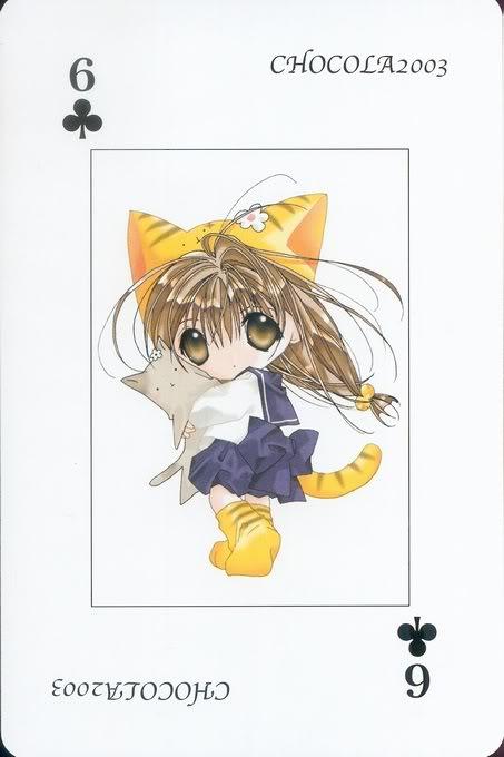 [Card] Chocola Playing Cards Chocolat_card_033