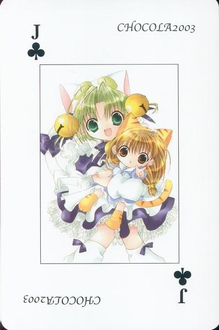 [Card] Chocola Playing Cards Chocolat_card_038