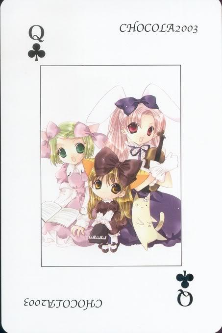 [Card] Chocola Playing Cards Chocolat_card_039