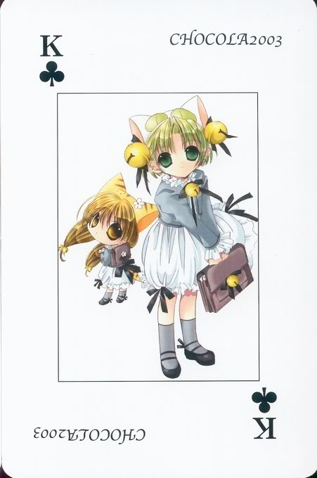 [Card] Chocola Playing Cards Chocolat_card_040
