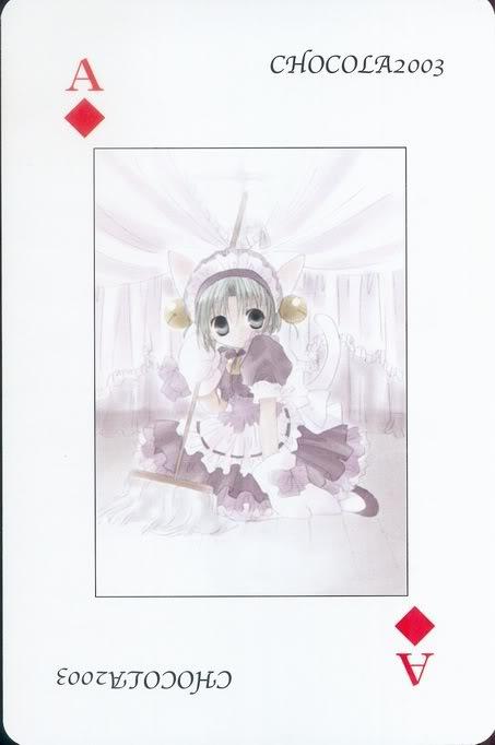 [Card] Chocola Playing Cards Chocolat_card_041