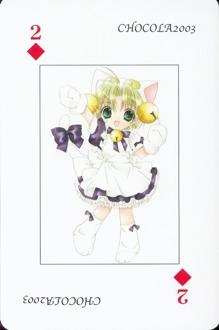 [Card] Chocola Playing Cards Chocolat_card_042