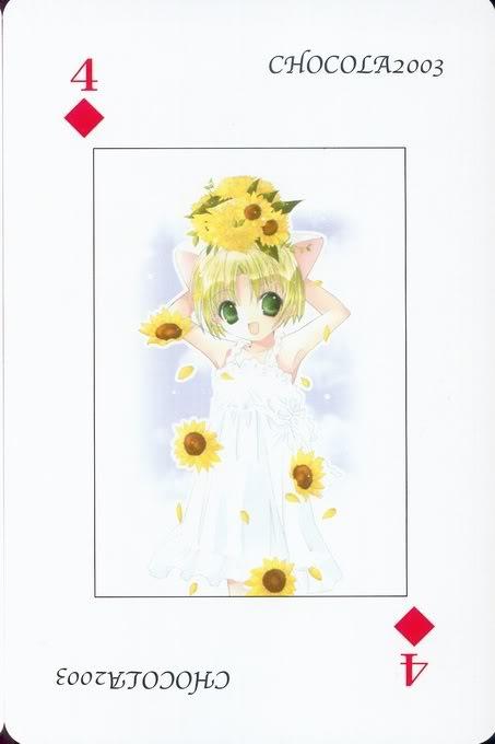 [Card] Chocola Playing Cards Chocolat_card_044