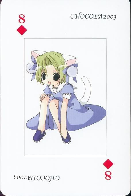 [Card] Chocola Playing Cards Chocolat_card_048