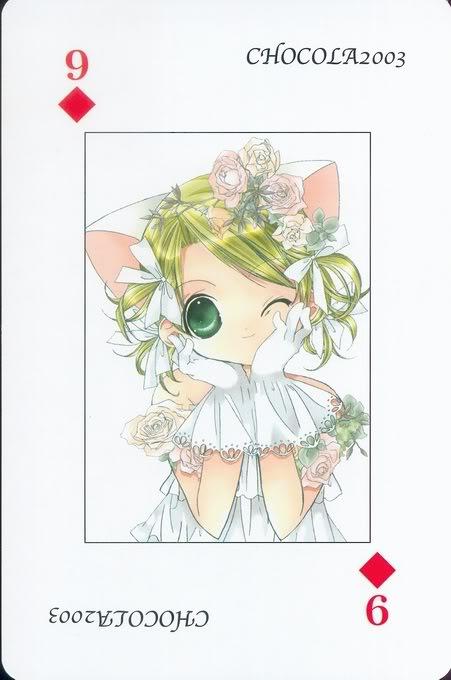 [Card] Chocola Playing Cards Chocolat_card_049