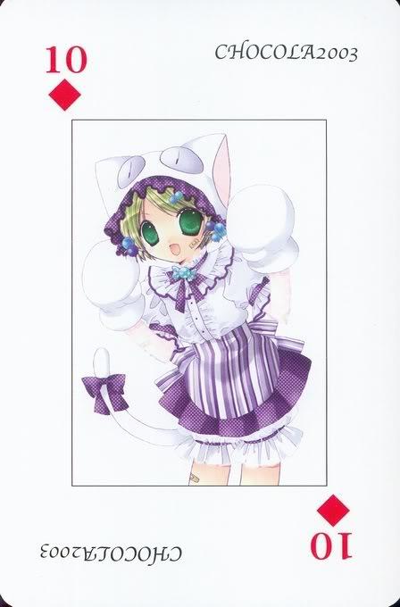 [Card] Chocola Playing Cards Chocolat_card_050