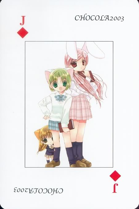 [Card] Chocola Playing Cards Chocolat_card_051