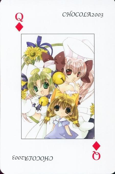 [Card] Chocola Playing Cards Chocolat_card_052