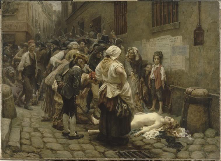 La mort de la princesse de Lamballe Lamortdemadamedelamballe