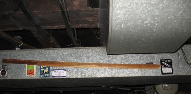 Wooden Swords Katana-yardstick