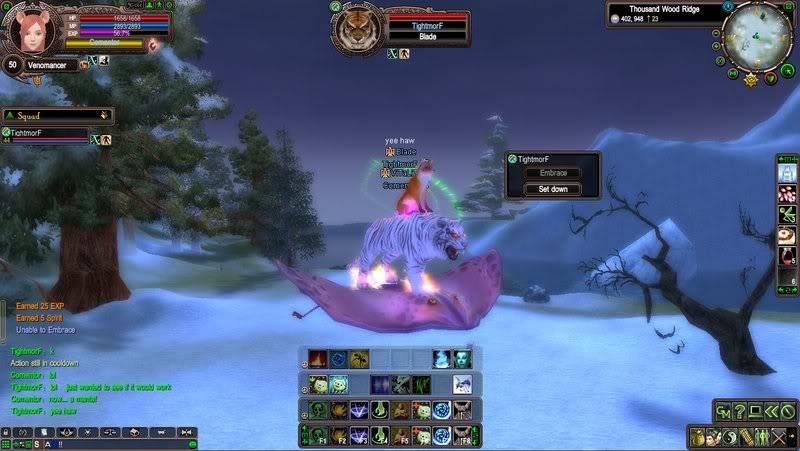 Flying Totem Pole!