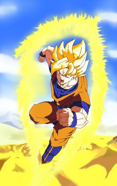 chicos sexis y bellos del anime Goku