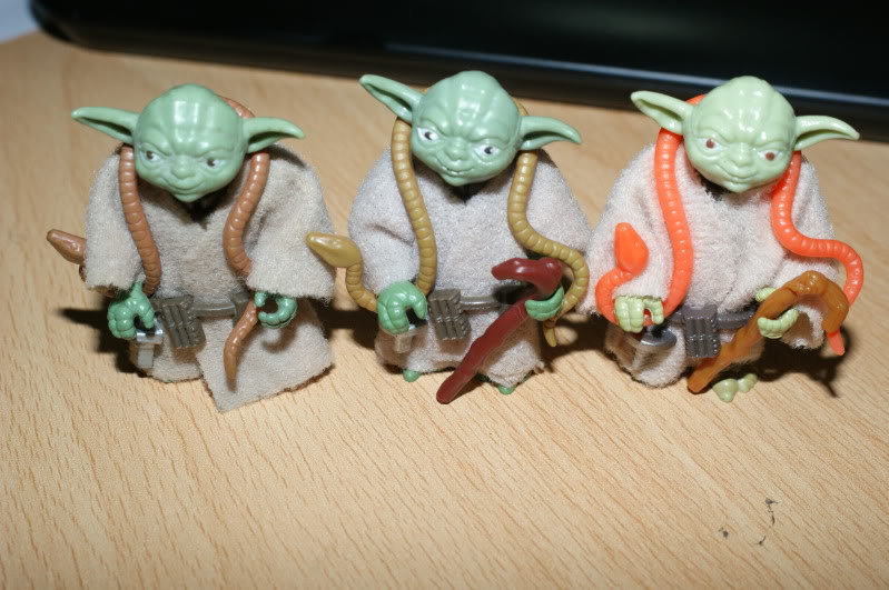 New REPRO Yoda Orange Yoda Snake has hit the market and its made from Plastic so be careful! DSC05433