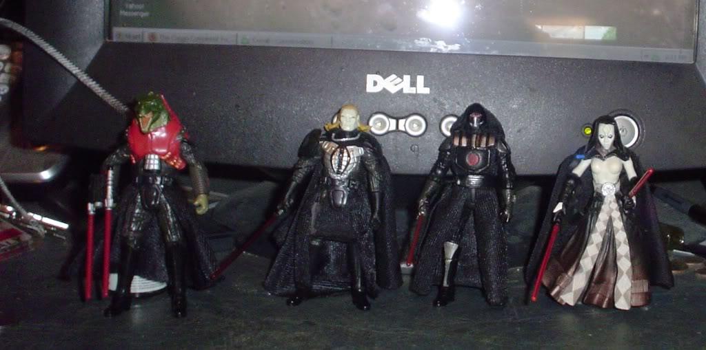 My custom Sith figures Sith2000