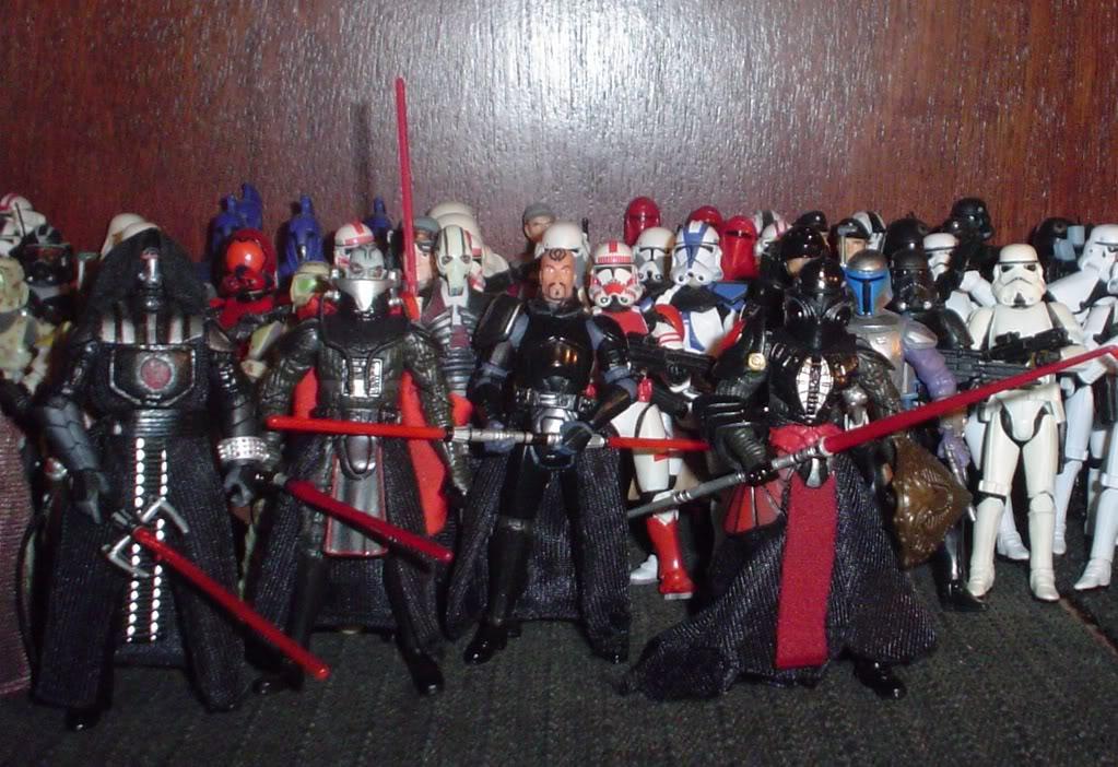 My custom Sith figures Sith300