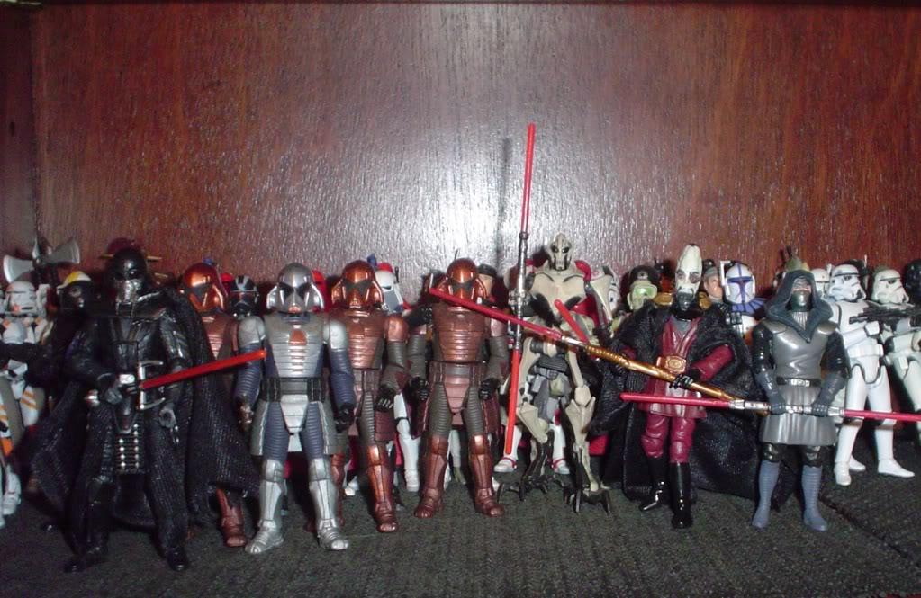 My custom Sith figures Sith99-1