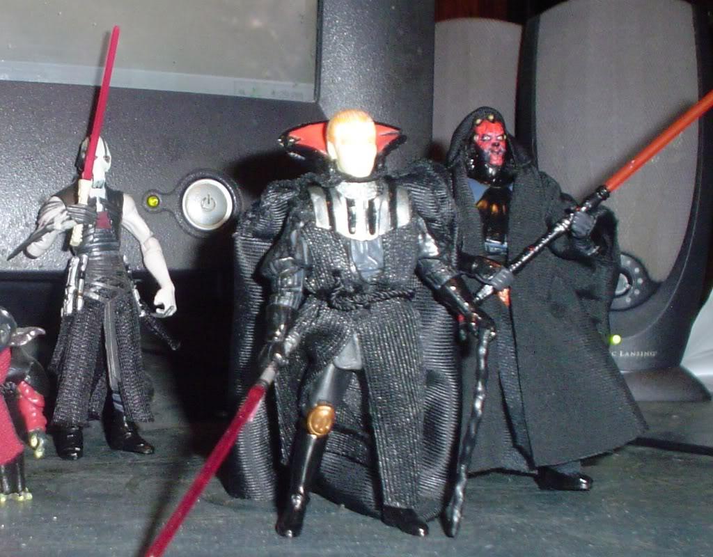 My custom Sith figures Sith2