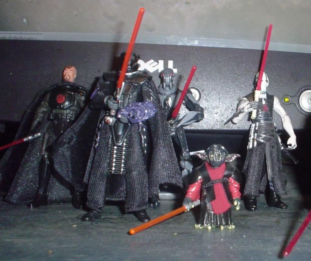 My custom Sith figures Sith3