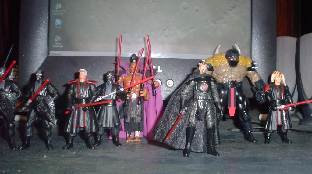 My custom Sith figures Sith33