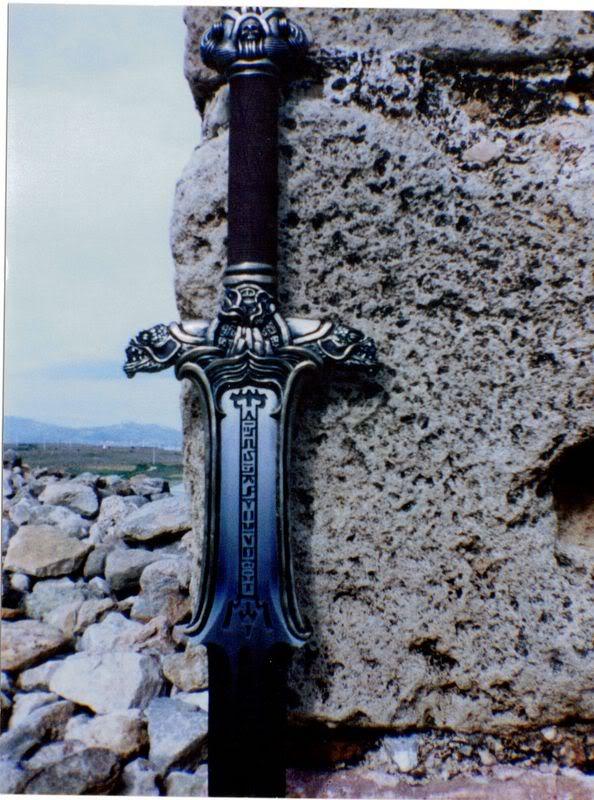 A Conan Fan Sword