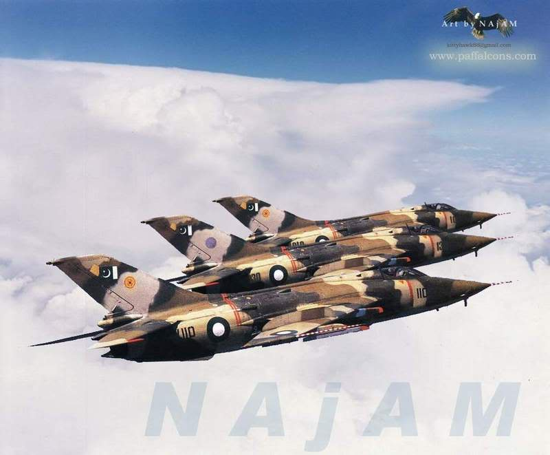 pakistan air force pictures A-5C_formation