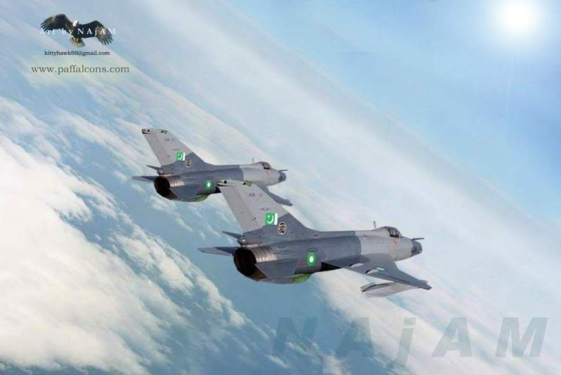 pakistan air force pictures F-7PGs_horizon