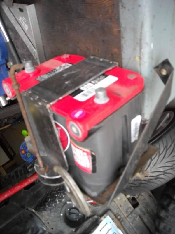 Rebuilt my battery tray. DSCN0057-2